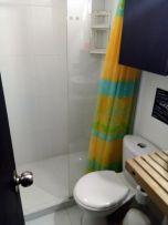 salle de bain/toilettes de ma chambre à Medellín - l'autre ailleurs en Colombie, une autre idée du voyage