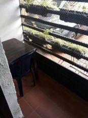 le balcon de ma chambre à Medellín - l'autre ailleurs en Colombie, une autre idée du voyage