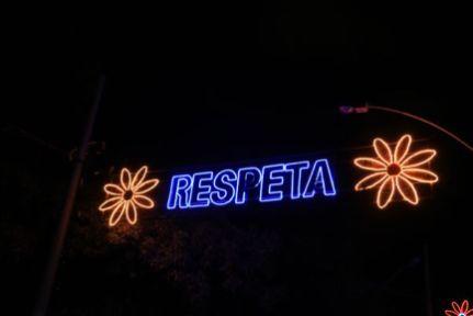 illuminations de Noël dans le parque Norte à Medellín - l'autre ailleurs en Colombie, une autre idée du voyage