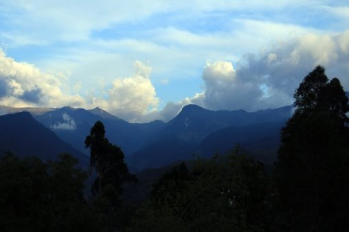 depuis le point de vue en haut de Salento - l'autre ailleurs en Colombie, une autre idée du voyage