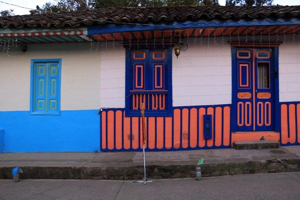 maisons à Salento - l'autre ailleurs en Colombie, une autre idée du voyage