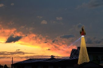 coucher de soleil à Salento - l'autre ailleurs en Colombie, une autre idée du voyage
