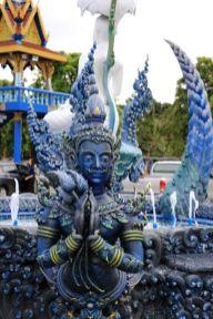 Le temple bleu près de Chiang Rai - l'autre ailleurs, une autre idée du voyage