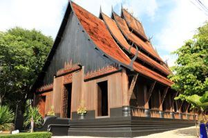Le temple noir près de Chiang Rai - l'autre ailleurs, une autre idée du voyage