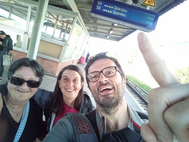 Guillemette et Noémie une bien belle rencontre à Berlin