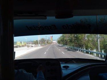 dans le bus de la compagnie Marsol, entre Carthagène des Indes et Santa Marta - l'autre ailleurs en Colombie, une autre idée du voyage
