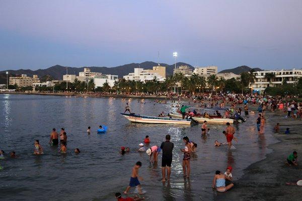 la plage de Santa Marta - l'autre ailleurs en Colombie, une autre idée du voyage