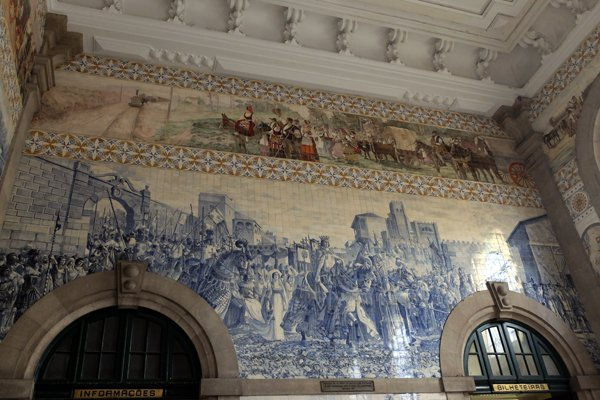 Gare ferroviaire de Porto- l'autre ailleurs à Porto, une autre idée du voyage