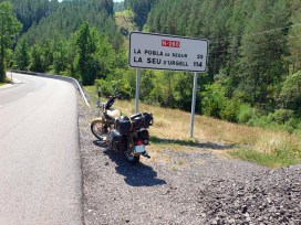 balade moto dans les Pyrénées (été 2019) - l'autre ailleurs, une autre idée du voyage
