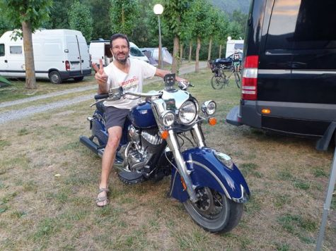 balade moto dans les Pyrénées (été 2019) dans camping en Andorre - l'autre ailleurs, une autre idée du voyage
