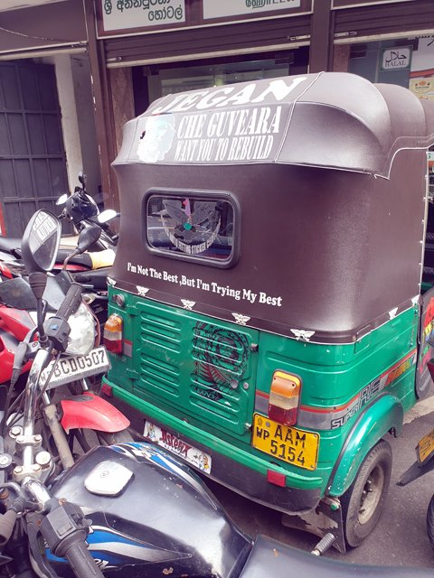 le tuc tuc de Ché Guevara - l'autre ailleurs au Sri-Lanka, une autre idée du voyage