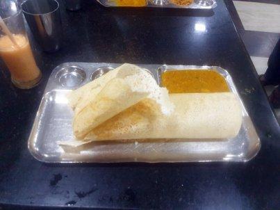 dernier dîner à Colombo (environ 320 Roupies soit 1,60 €) - l'autre ailleurs au Sri-Lanka, une autre idée du voyage