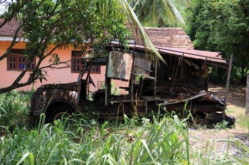 mon carrosse s'est transformé en citrouille :) - l'autre ailleurs au Sri-Lanka, une autre idée du voyage