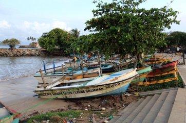 bateaux de pêche à Galle - l'autre ailleurs au Sri-Lanka, une autre idée du voyage
