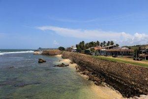 les fortifications dans la partie vieille ville de Galle - l'autre ailleurs au Sri-Lanka, une autre idée du voyage