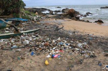une des plage de Galle, côté ville moderne - l'autre ailleurs au Sri-Lanka, une autre idée du voyage