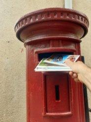 les premières cartes postales sont parties depuis Kandy - l'autre ailleurs au Sri-Lanka, une autre idée du voyage