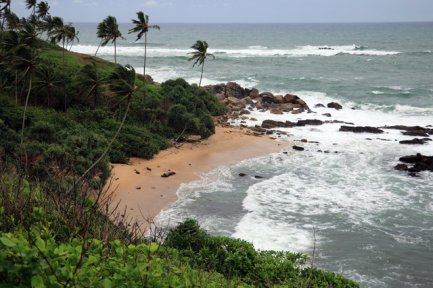la plage secrète ,secret beach à Mirissa - l'autre ailleurs au Sri-Lanka, une autre idée du voyage