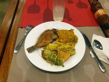 dîner buffet à Polonnâruvâ - l'autre ailleurs au Sri-Lanka, une autre idée du voyage