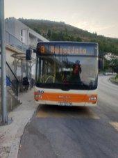 le bus n°3 qui relie mon logement un peu excentré du centre ville de Dubrovnik - l'autre ailleurs en Croatie, une autre idée du voyage
