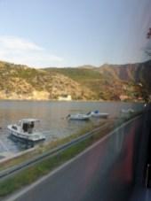 depuis ma place dans le bus de Dubrovnik à Split - l'autre ailleurs en Croatie, une autre idée du voyage