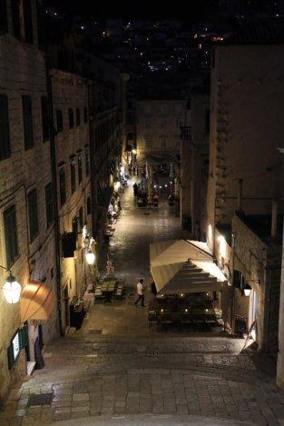 Dubrovnik, la nuit dans la vieille ville - l'autre ailleurs en Croatie, une autre idée du voyage