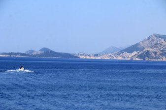 la mer depuis le port de Cavtat - l'autre ailleurs en Croatie, une autre idée du voyage