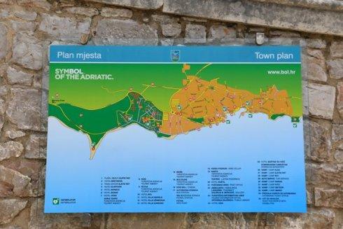 plan de Bol sur l'île de Brač - l'autre ailleurs en Croatie, une autre idée du voyage