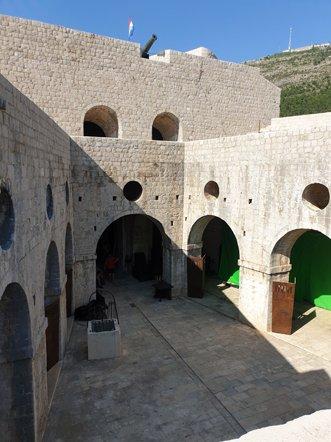 en haut du fort Lovrijenac à Dubrovnik - l'autre ailleurs en Croatie, une autre idée du voyage