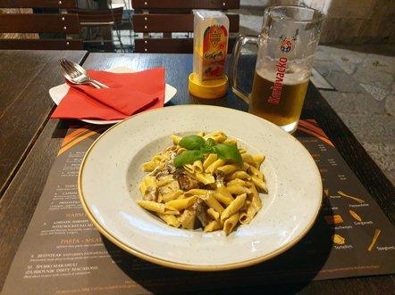 dernier dîner à Dubrovnik, restaurant Spaghetteria Toni - l'autre ailleurs en Croatie, une autre idée du voyage