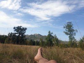 pause déjeuner dans le parc national de Paklenica - l'autre ailleurs en Croatie, une autre idée du voyage