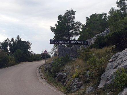 au revoir la montagne le parc national de Paklenica - l'autre ailleurs en Croatie, une autre idée du voyage