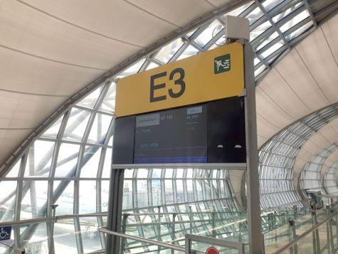 aérogare de Bangkok Suvarnabhumi - l'autre ailleurs au Myanmar (Birmanie) et Thaïlande, une autre idée du voyage