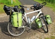 Le VTT transformé en vélo de voyage - l'autre ailleurs en Vélo, une autre idée du voyage (www.autre-ailleurs.fr)