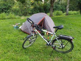 mon premier campement au camping municipal de Moissac, Le Moulin de Bidounet - l'autre ailleurs en Vélo, une autre idée du voyage (www.autre-ailleurs.fr)