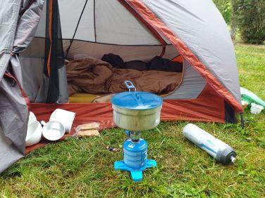 popote au camping des Pujols à Villeneuve sur Lot - l'autre ailleurs en Vélo, une autre idée du voyage (www.autre-ailleurs.fr)