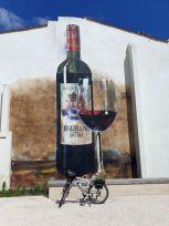 évocation vinicole à Pauillac (33) - l'autre ailleurs en Vélo, une autre idée du voyage (www.autre-ailleurs.fr)