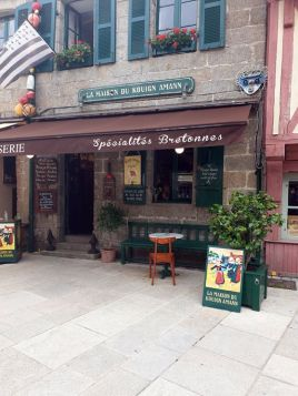 la maison du kouign amann, à Concarneau (29) - l'autre ailleurs en Vélo, une autre idée du voyage (www.autre-ailleurs.fr)