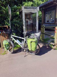 Malestroit (56) sur la voie verte en direction de Redon (35) - l'autre ailleurs en Vélo, une autre idée du voyage (www.autre-ailleurs.fr)