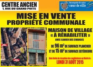 Rénovation du centre ancien à Marignane