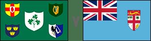 Ireland v Fiji