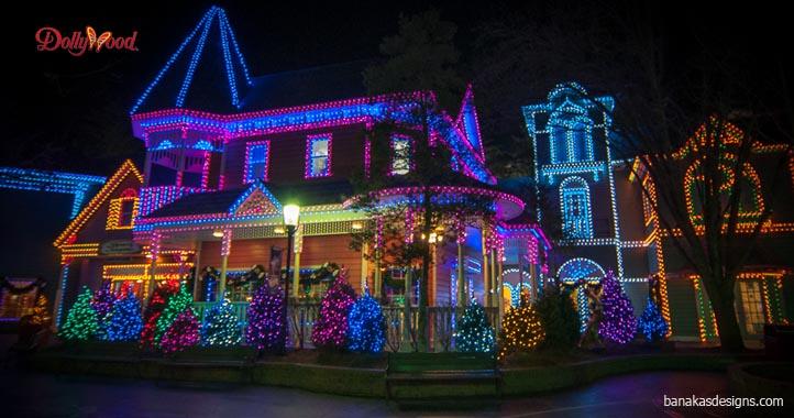 Christmas Night Lights