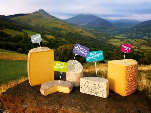 Les Fromages AOP d'Auvergne font leur PUB |