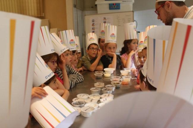 Semaine gout école française boulangerie Aurillac