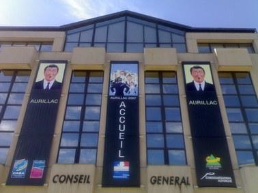 Conseil Général du Cantal, Festival de Théâtre de rue d'Aurillac, accueil du public