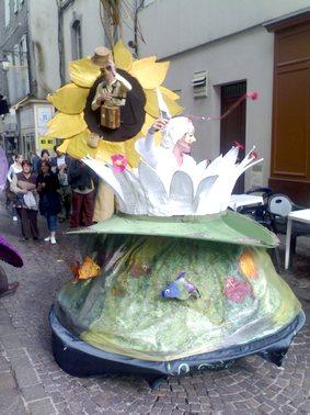Déambulation dans les rue, Photo du festival d'aurillac