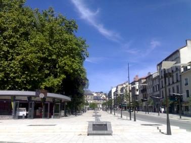 PLace du Square Aurillac, Cantal, photo Didier-iLACA