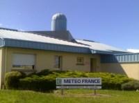 Météo France, la station d'Aurillac, Cantal