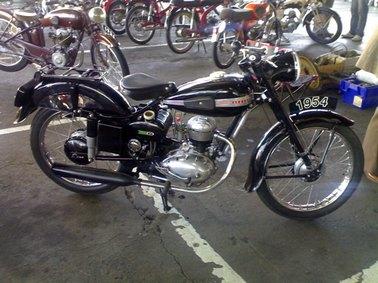 Terrot, photo de moto ancienne, Aurillac, Cantal