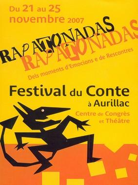 Festival du conte, Rapatonadas, Aurillac, Cantal